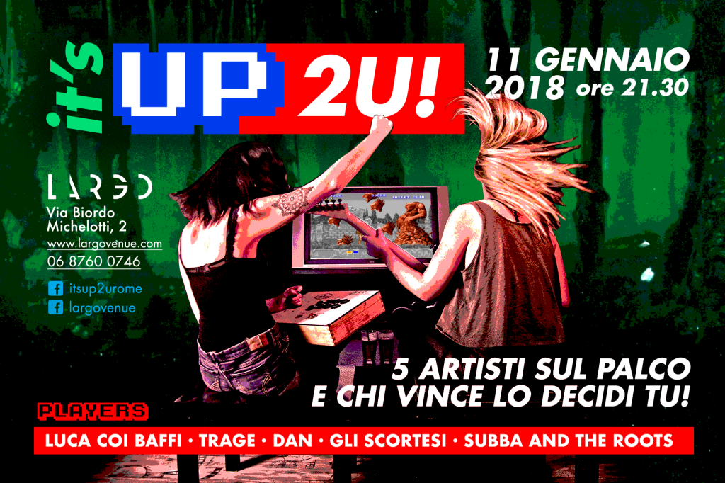 It'sUp2U! seconda serata