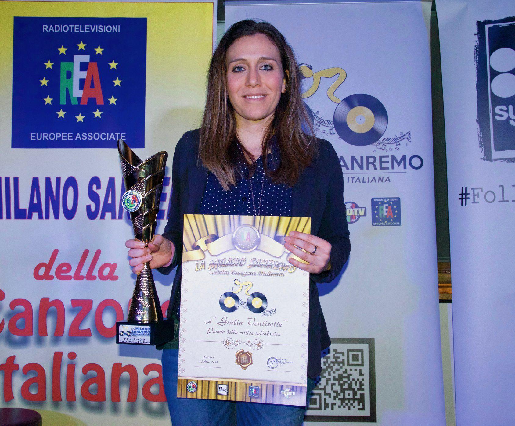 """Giulia Ventisette con """"Soldatini di carta"""" è la vincitrice dell'edizione 2018 de la MSCI"""
