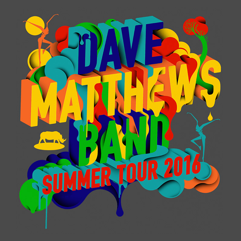 Dave Matthews Band Summer Tour 2016