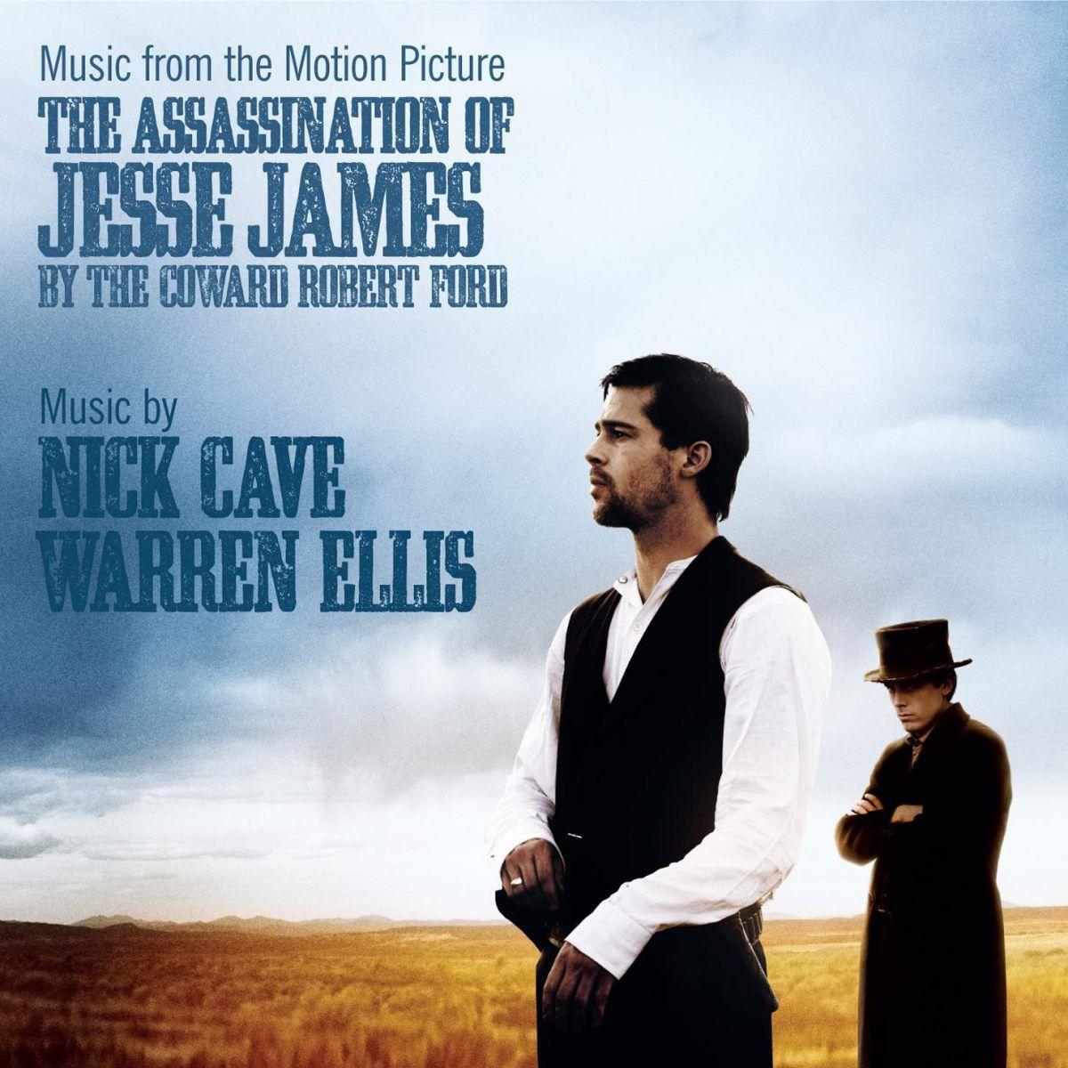 """La copertina della colonna sonora del film """"The assassination of Jesse James by the Coward Robert Ford"""""""
