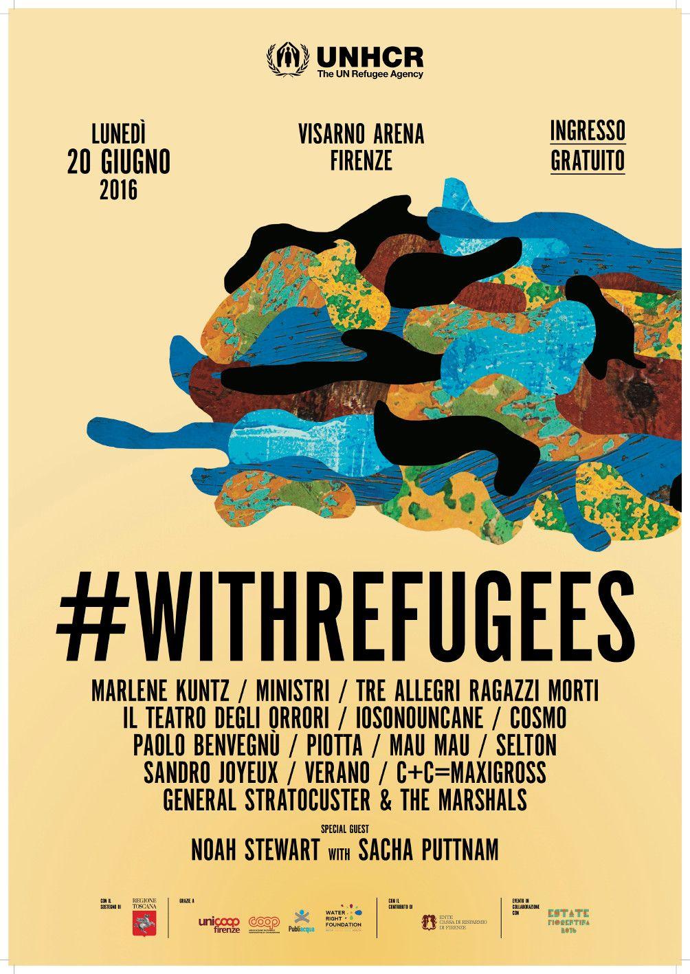 #WithRefugees – La musica indipendente a sostegno dei rifugiati