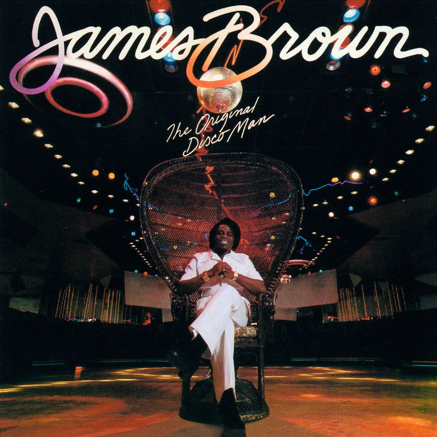 "La copertina di ""The original disco man"" di James Brown"