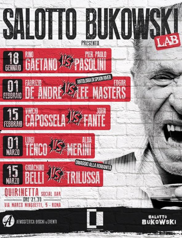 Salotto Bukowski Lab