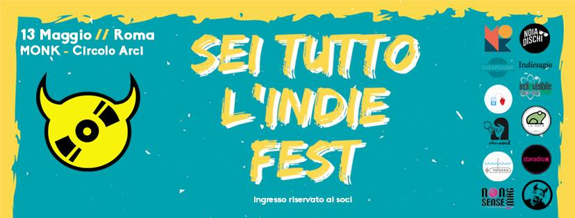 Sei tutto l'indie fest al Monk di Roma: Noise Symphony partner dell'evento