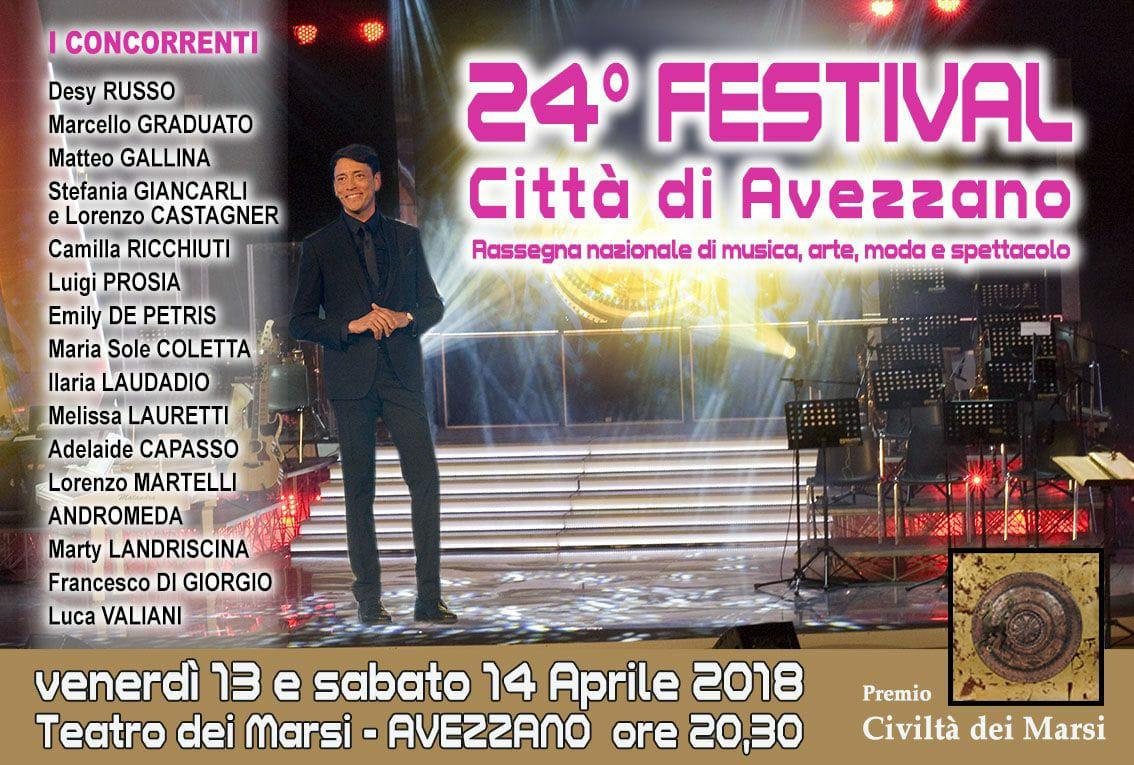 Festival di Avezzano – Tutte le novità di quest'anno!