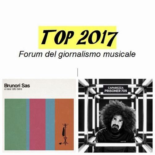 Brunori e Caparezza vincono il Top2017: i due migliori album secondo il Forum del giornalismo musicale
