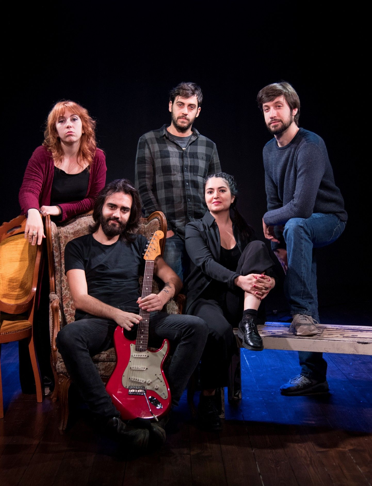 Blues in Sedici di Stefano Benni all'Altrove Teatro Studio di Roma