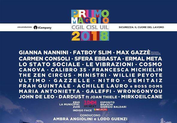 Primo Maggio Roma 2018