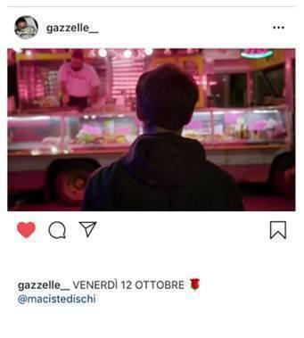 Gazzelle   Annunciato il nuovo singolo con un post sui social