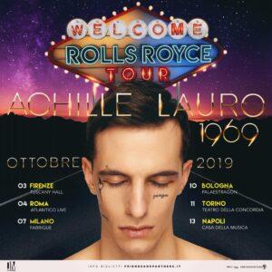 Achille Lauro Rolls Royce Tour
