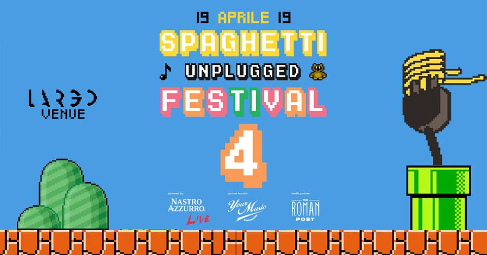 Spaghetti Unplugged Festival 2019: la line up.