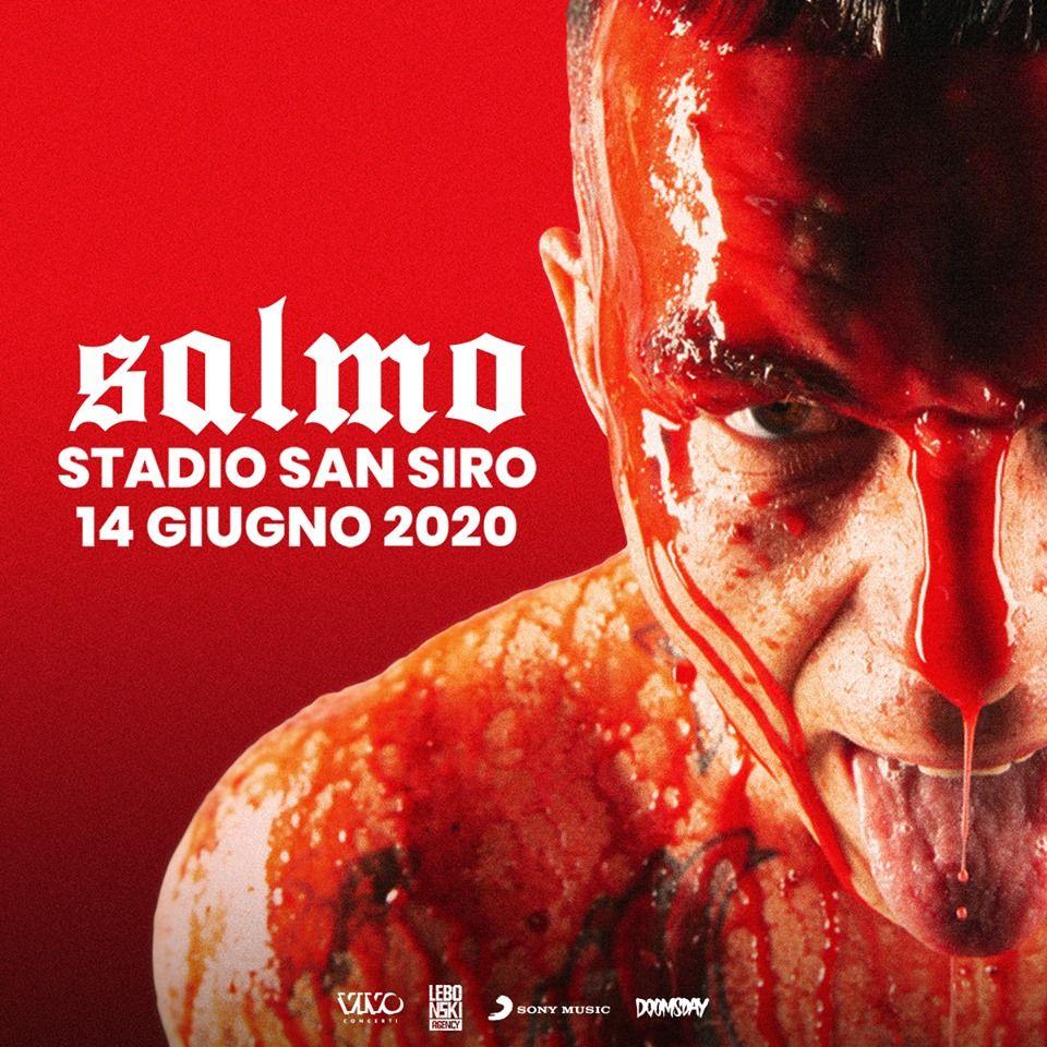 Salmo: l'annuncio dell'unica data del 2020 a San Siro