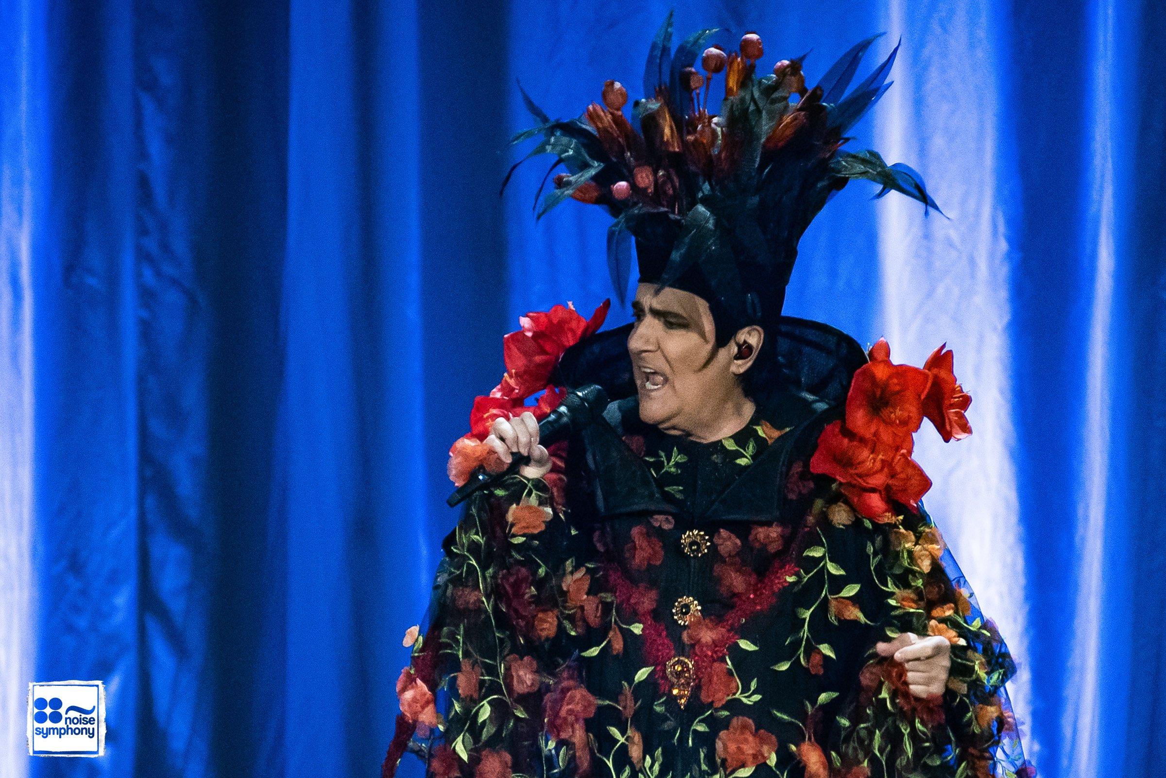 Renato Zero incanta Roma con Zero il Folle Tour