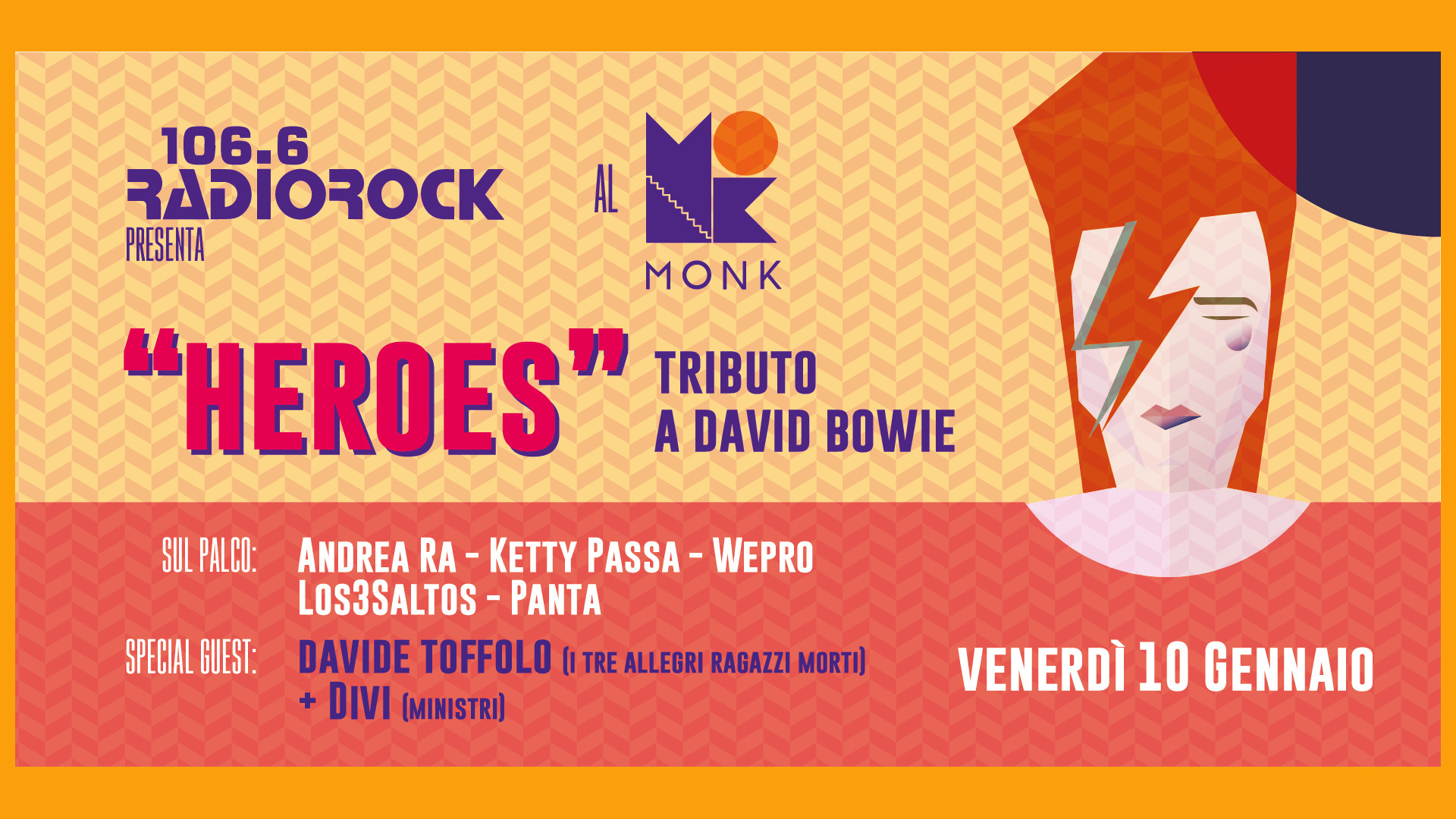 Heroes: il tributo di Radio Rock a David Bowie
