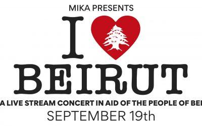 I Love Beirut di Mika raccoglie 1 milione di euro