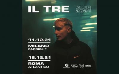 Il Tre: due date live e l'album d'esordio