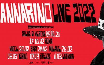 Mannarino 2022: riprogrammate le date del tour