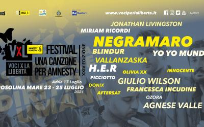 Voci per la Libertà con i Negramaro: il programma della nuova edizione
