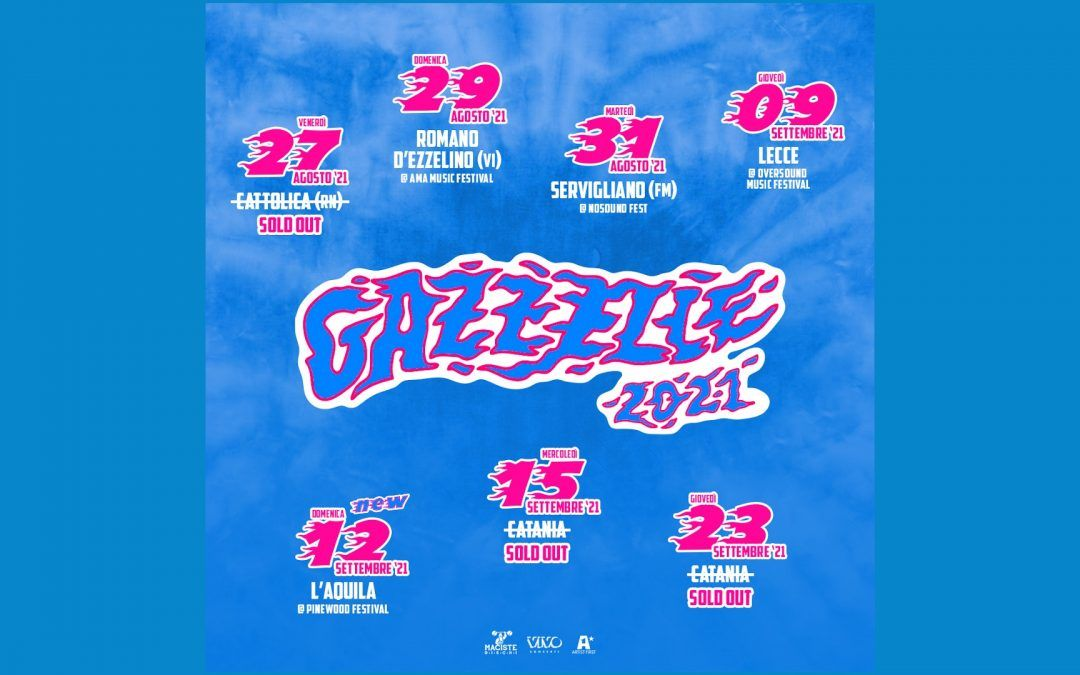 Gazzelle 2021 tour