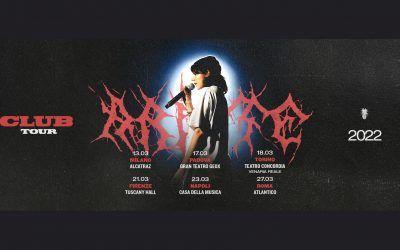 Ariete Club Tour: l'annuncio delle date live